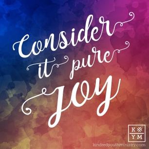 Consider it pure joy