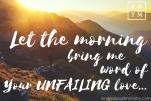 Psalm 143-8