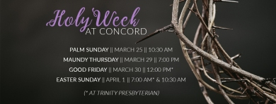 Holy Week fb cover - Concord