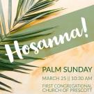 Palm Sunday FCC